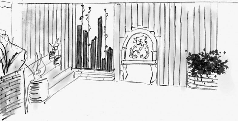 perspective terrasse