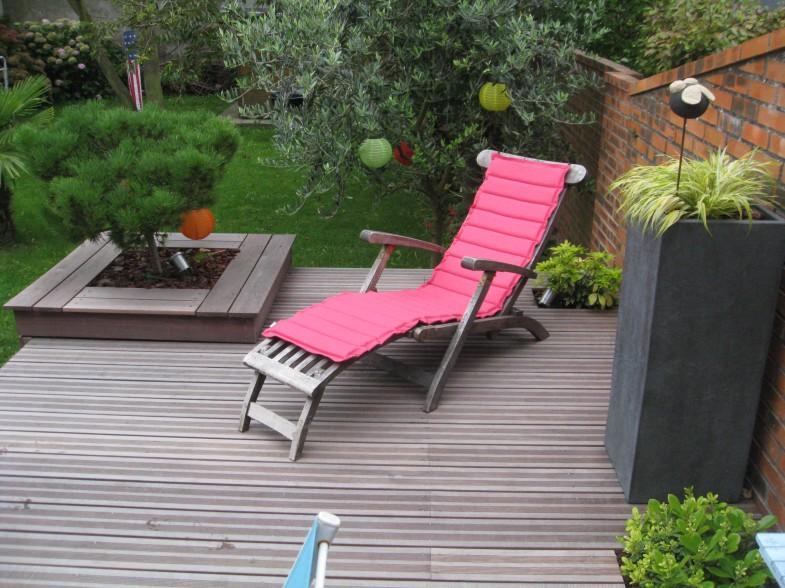 Terrasse + bac