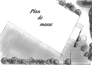 plan de masse pour site